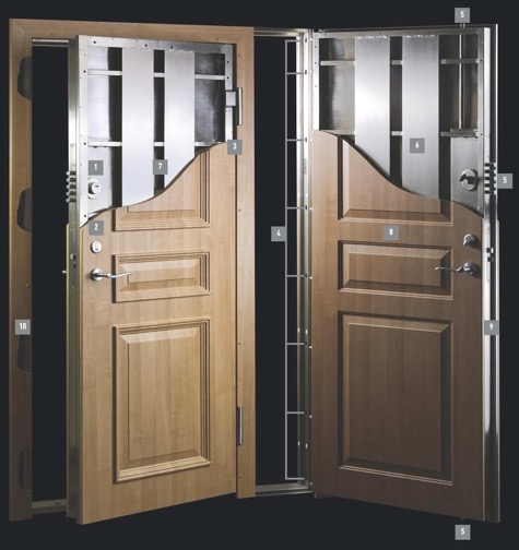 Cost is not a factor more or less what are the best for Residential entry doors
